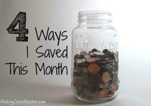 4 Ways I Saved In December