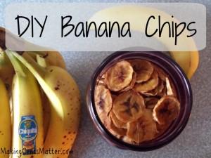DIY Banana Chips