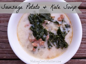 Sausage, Potato & Kale Soup