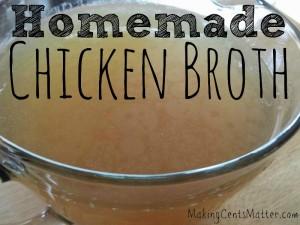 Homemade Chicken Broth