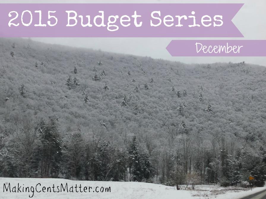 2015 Budget Series Dec