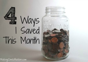 4 Ways I Saved In December