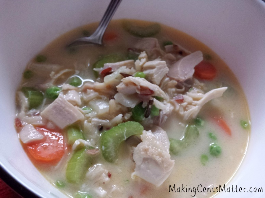 Chicken Wild Rice Soup 1