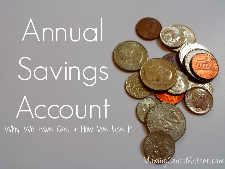 Annual Savings Account