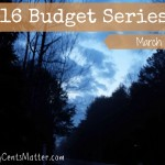March 2016 Budget
