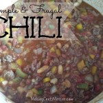 Simple & Frugal Chili