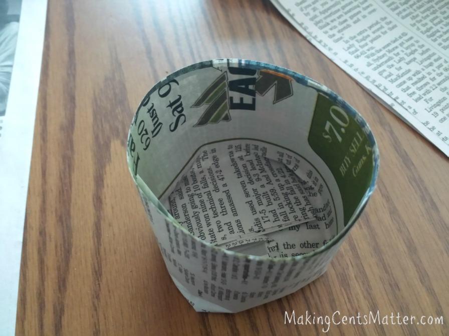 newspaper pots 5