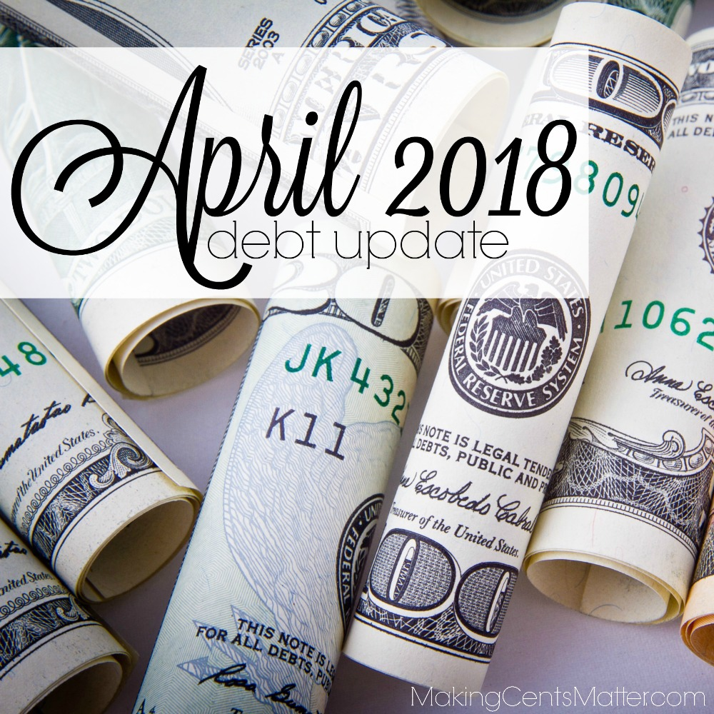 April 2018 Debt Update