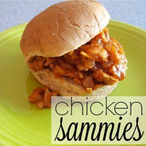 Chicken Sammies