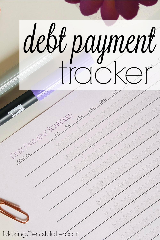 Debt Payment Tracker