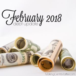 February 2018 Debt Update