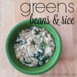 Greens, Beans and Rice