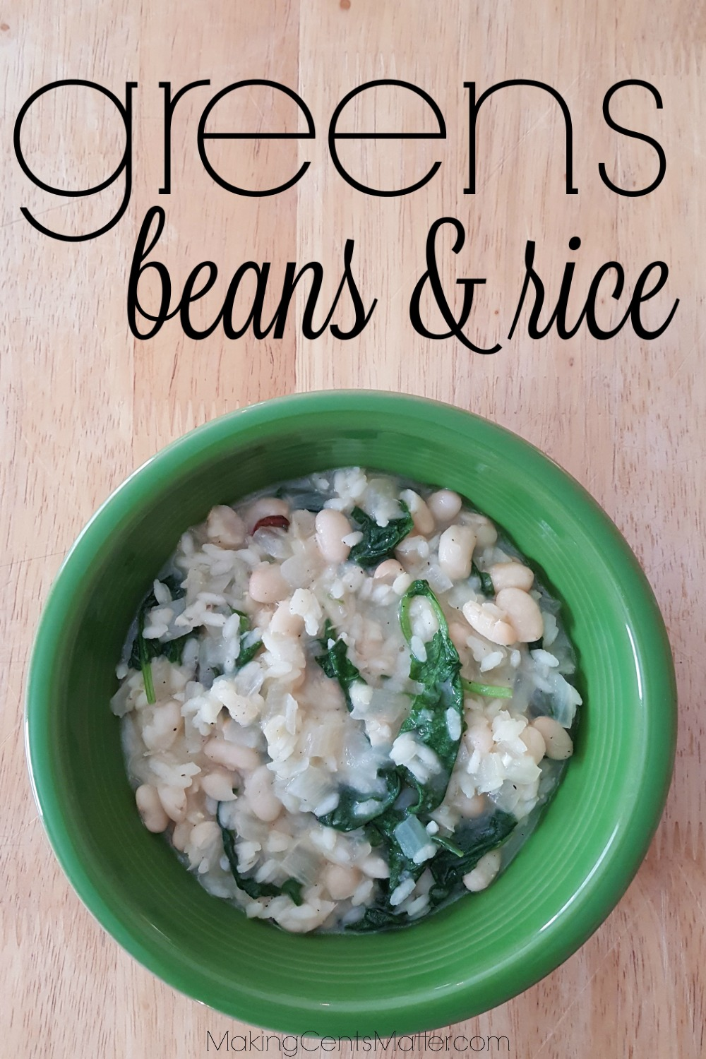 Greens Beans Rice