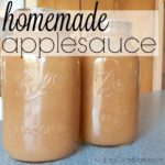 Homemade Applesauce – With Canning Tutorial