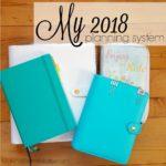 My 2018 Planning System