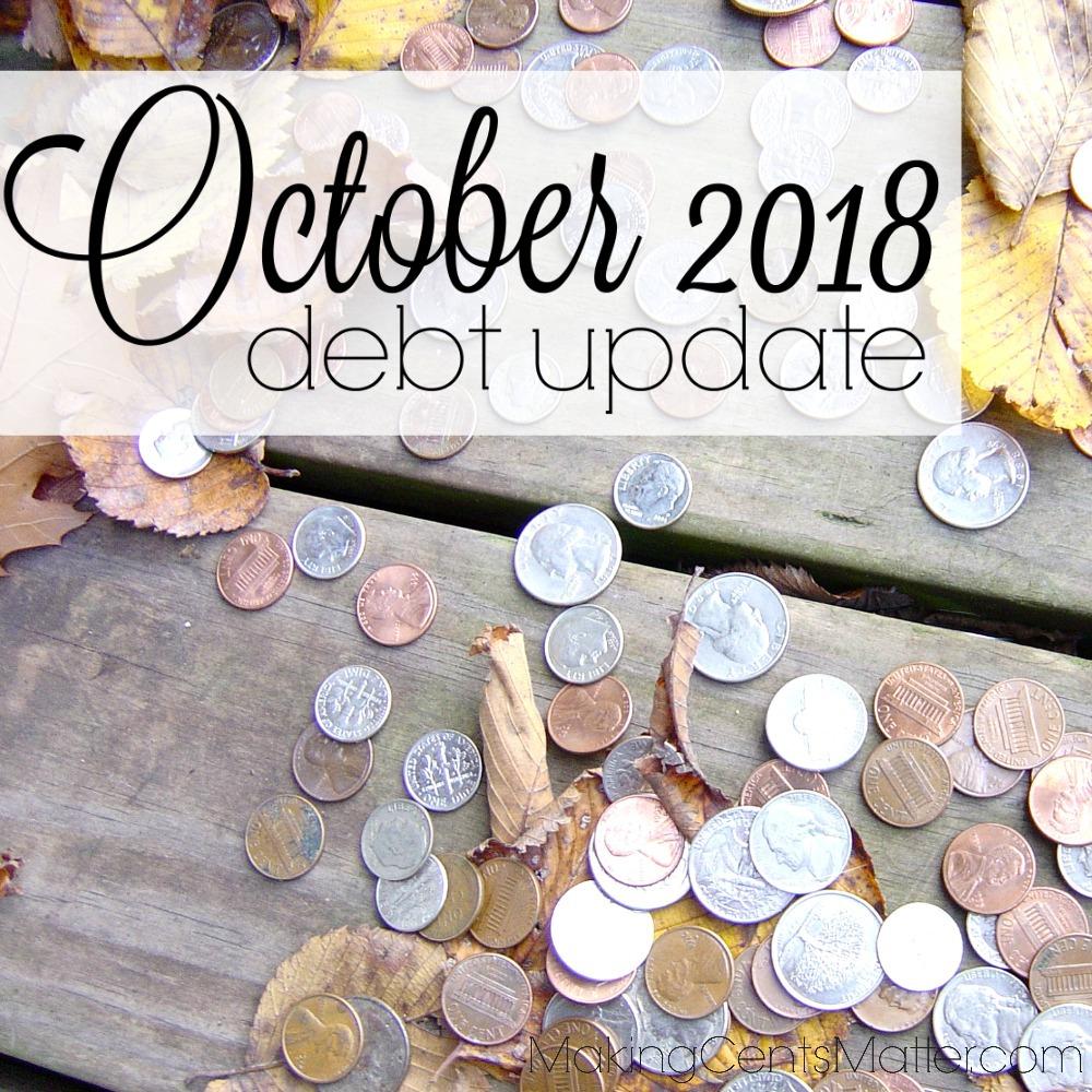 October 2018 Debt Update