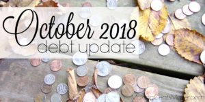 October 2018 Debt Update