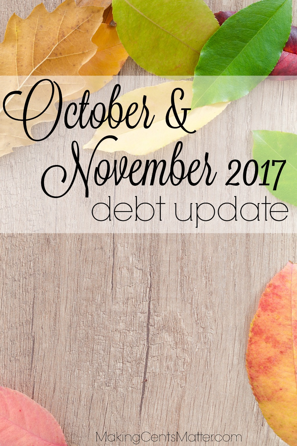 October November 2017 Debt Update