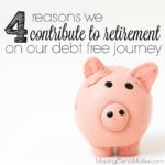 Retirement Contribution In Debt Repayment