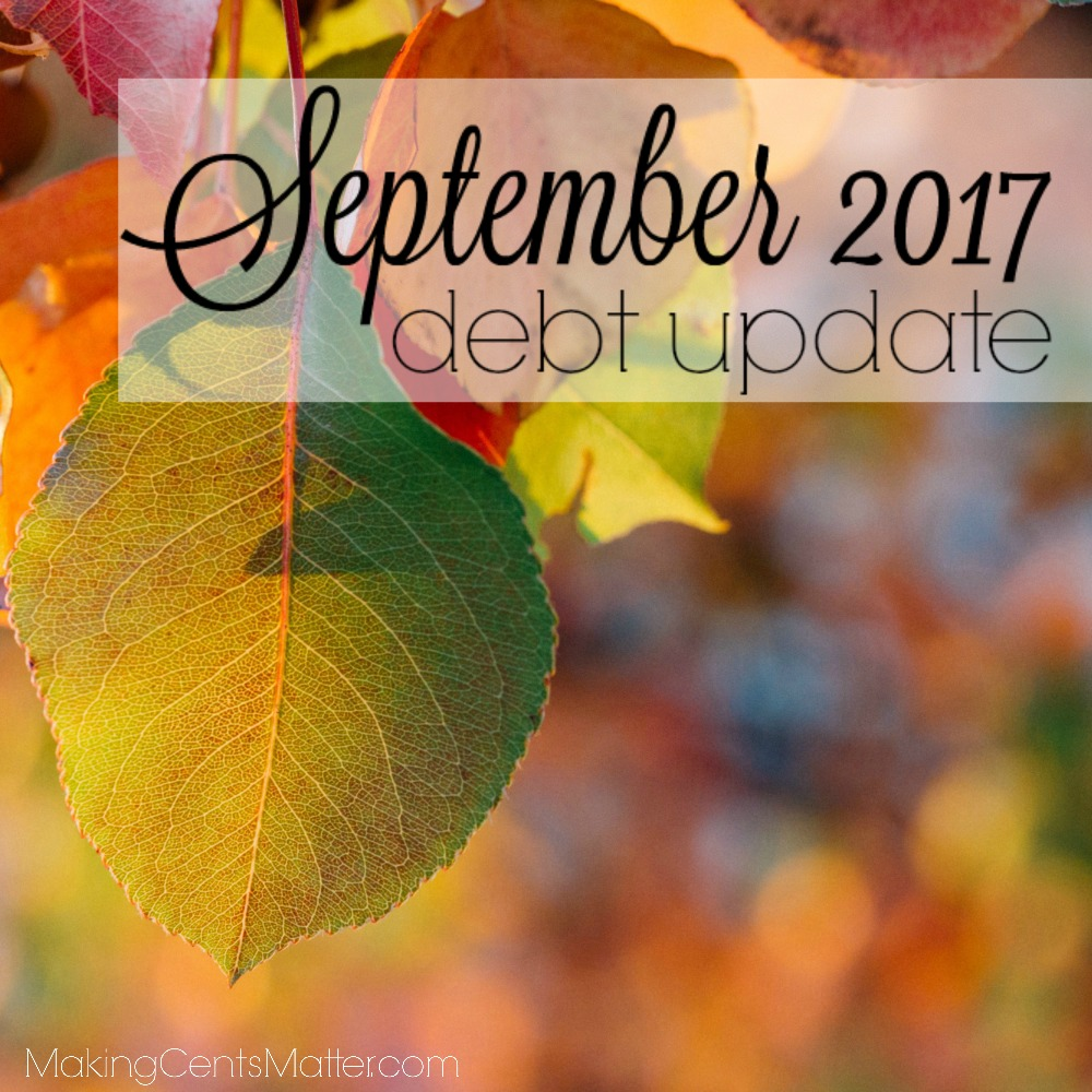 September 2017 Debt Update