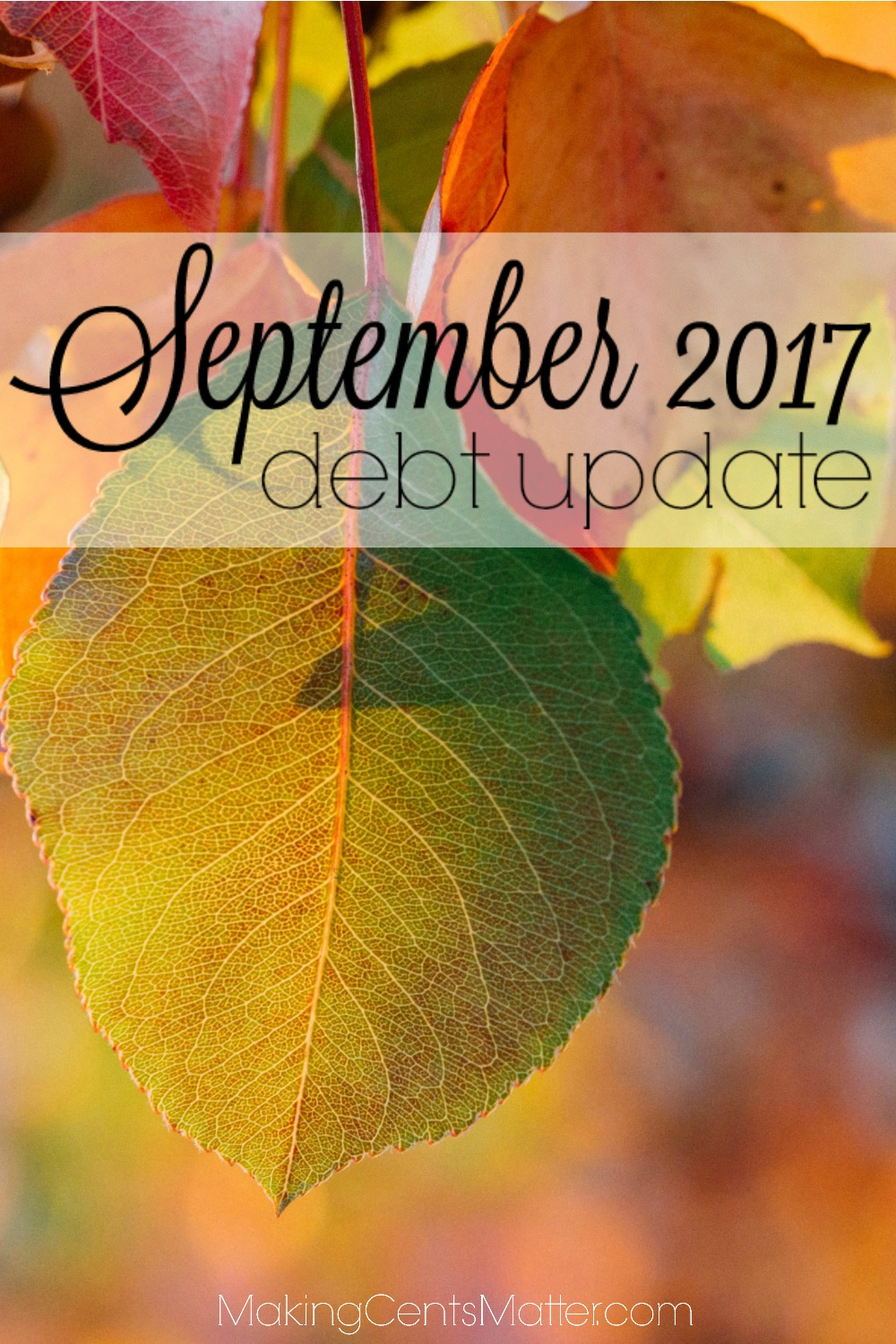 September 2017 Debt Update
