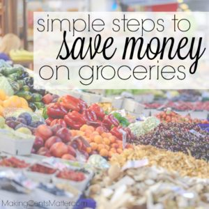 Simple Steps Save Money Groceries