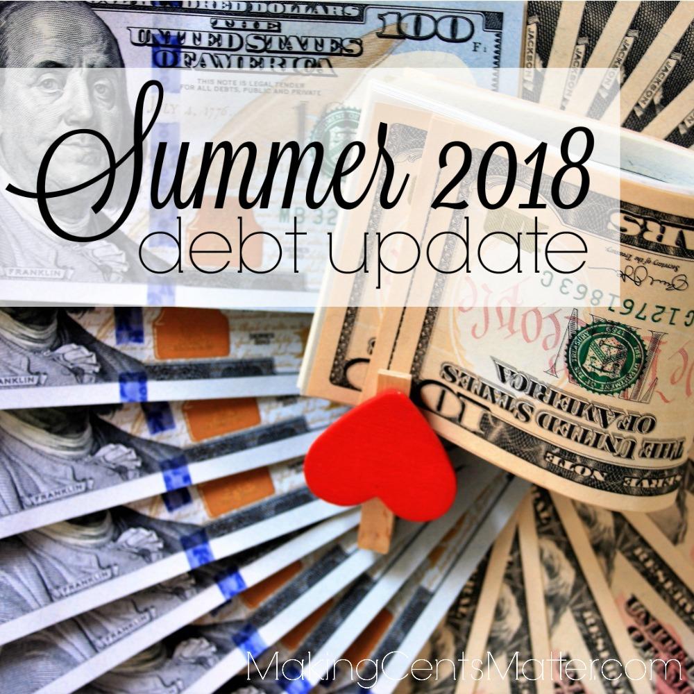 Summer 2018 Debt Paid