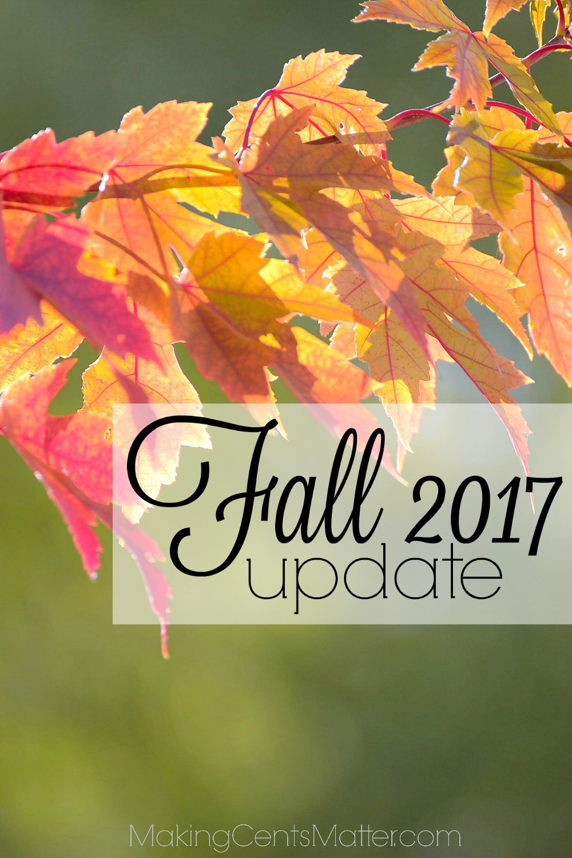 fall 2017 update