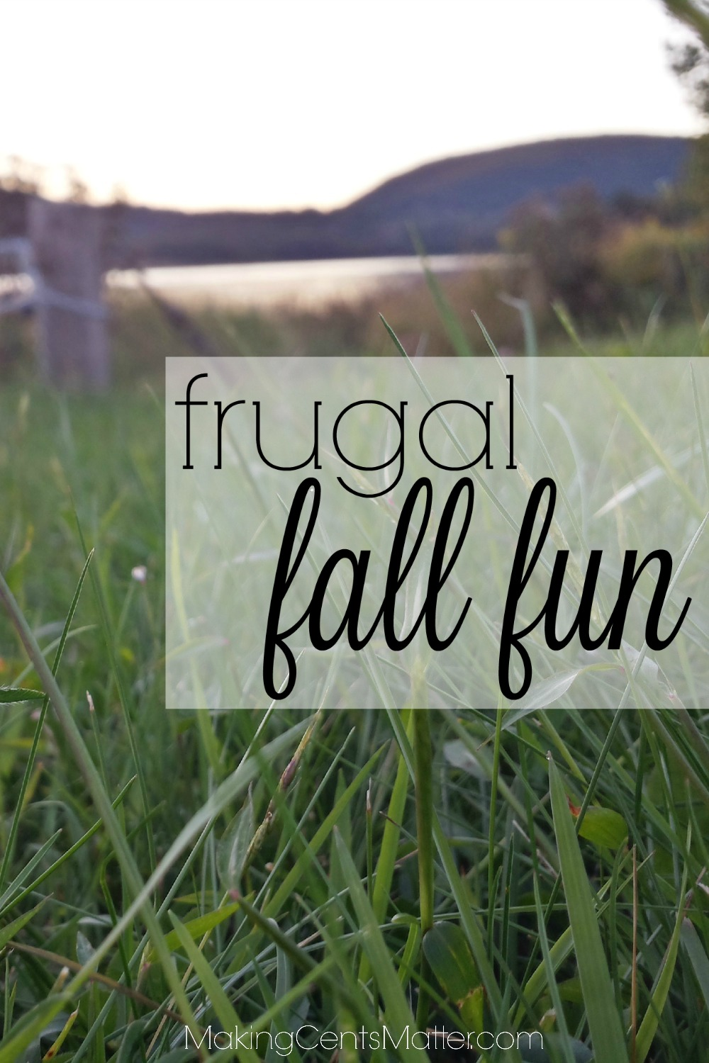 frugal fall fun