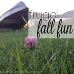 Frugal Fall Fun!