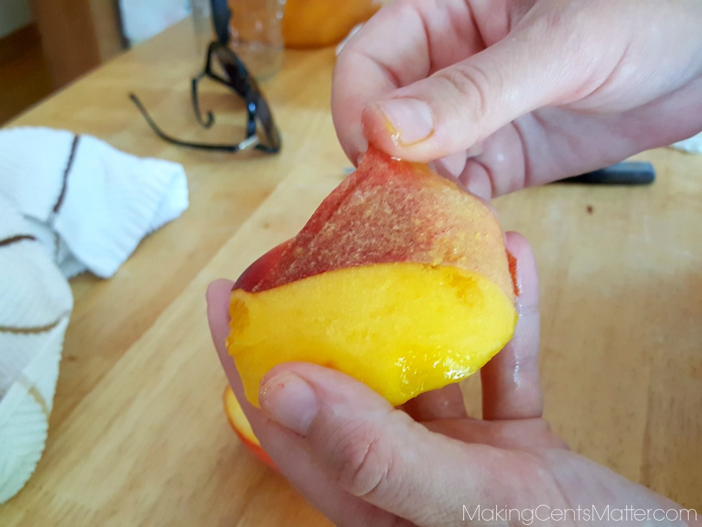 how to can fresh peaches