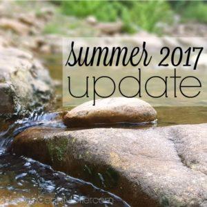 summer 2017 update