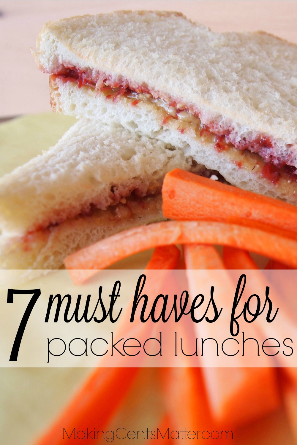 must haves for packed lunches