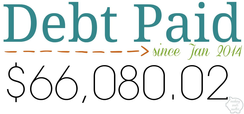 December 2016 Budget Debt Paid