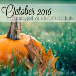 October 2016 Budget & Debt Update