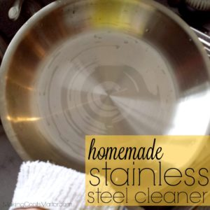 Homemade Stainless Steel Cleaner