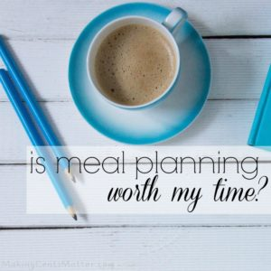 meal planning worth time