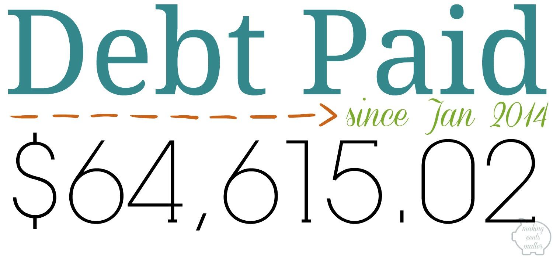 November 2016 Debt Paid