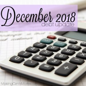 December 2018 Debt Update