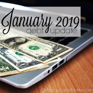 January 2019 Debt Update