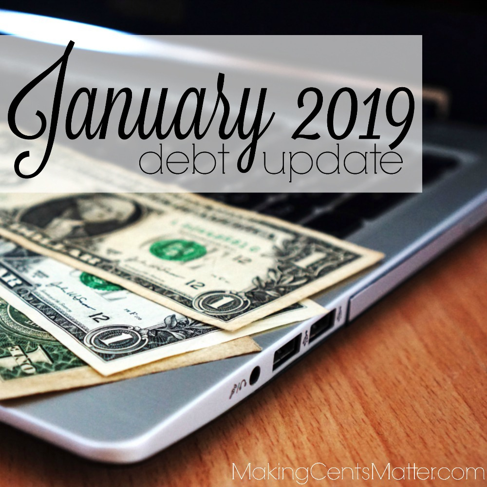January 2019 Debt Update