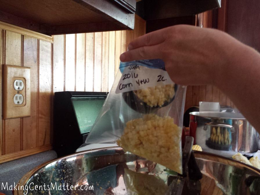 freeze corn in 6 easy steps