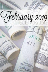 February 2019 Debt Update