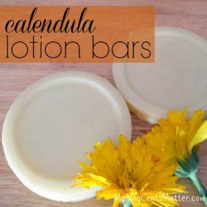 Calendula Lotion Bars