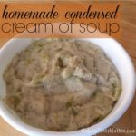 Homemade Condensed Cream Of Soup