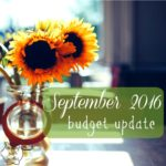 September 2016 Budget & Debt Update