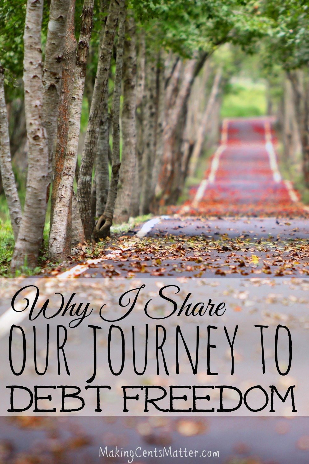 share our journey debt freedom pin