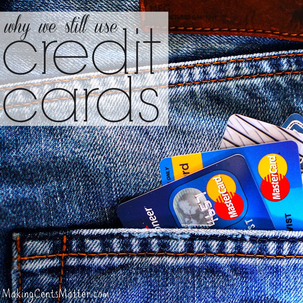 still use credit cards