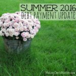 Debt Update: Summer 2016 Update