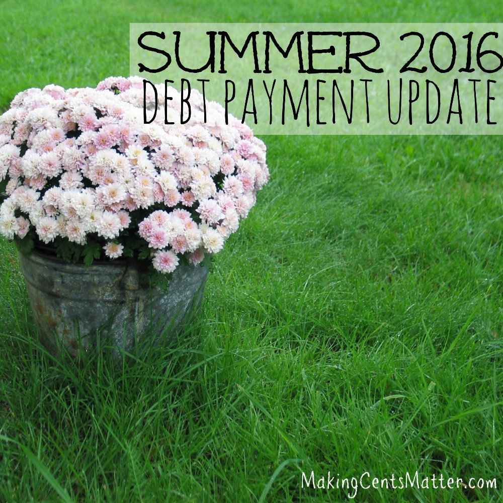 summer 2016 debt update